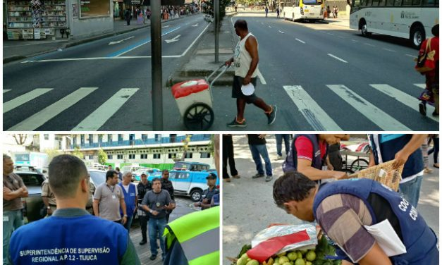Superintendência dá continuidade à Mega Operação de Reordenamento Urbano e Segurança na Grande Tijuca