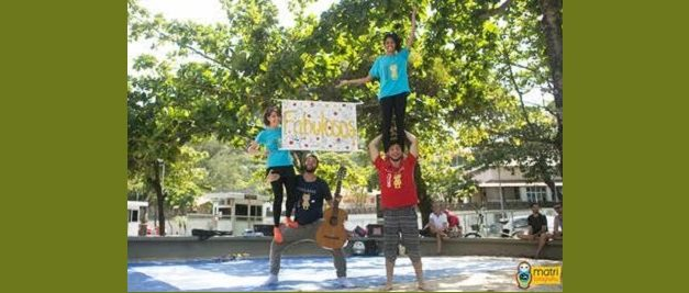 'Os Fabulosos' fazem a alegria da criançada no Centro de Visitantes Paineiras