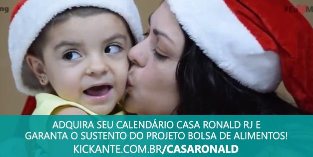 Casa Ronald McDonald-RJ promove campanha para arrecadar recursos na internet
