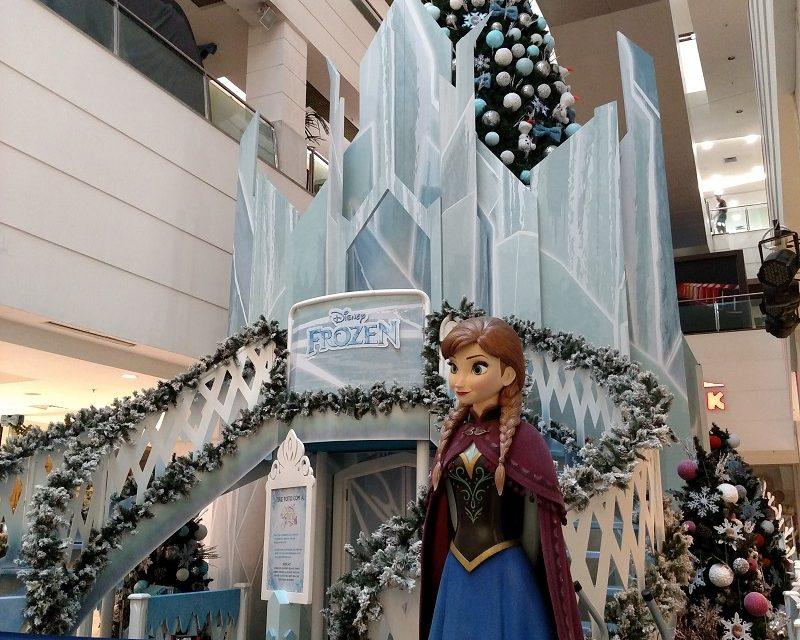 Shopping Tijuca recebe Frozen, da Disney para um Natal mágico e congelante