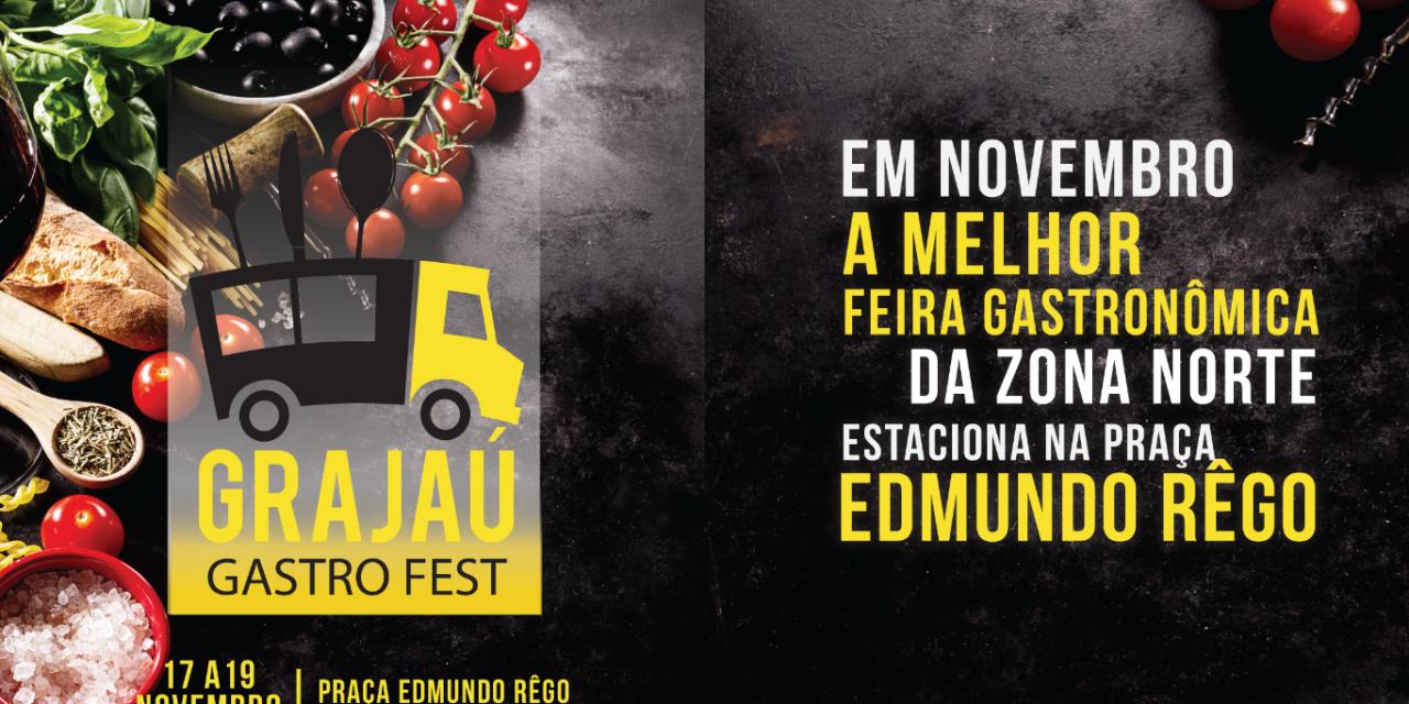 Grajaú Gastro Fest estreia na praça Edmundo Rêgo