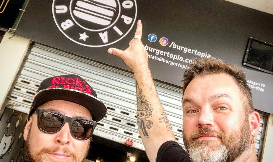 Burgertopia ganha ponto fixo na Tijuca