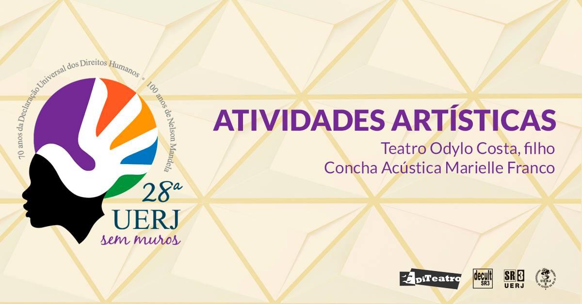 28º UERJ Sem Muros: Atividades Artísticas Diteatro