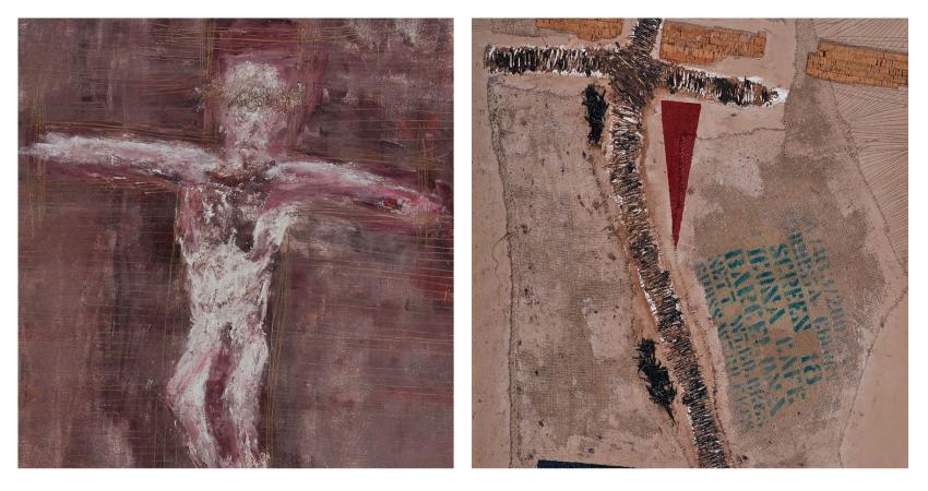 Cristo Rei – Cristo Redentor e A Cruz do artista português José Jorge