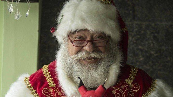 Criador da Escola de Papai Noel, Limachen Cherem comanda evento natalino na Tijuca