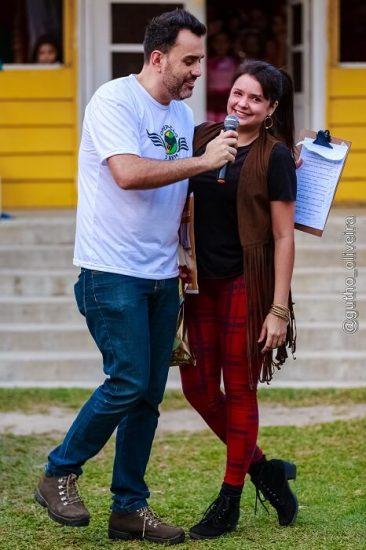 Fabio Ramalho e Mariana Salvaya - Organizadora - Foto Gutho Oliveira