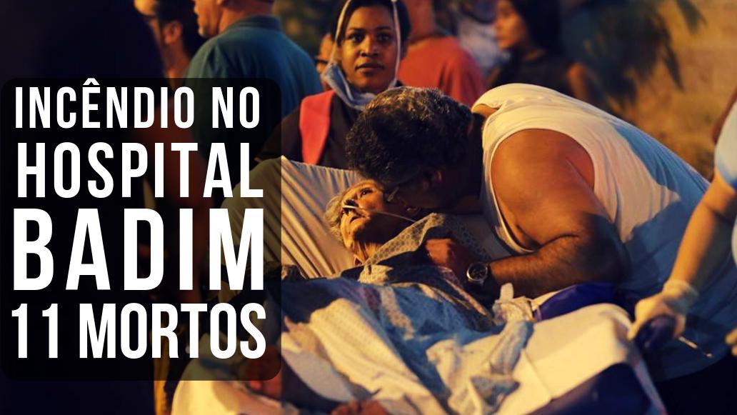 Grande Tijuca em luto – 11 mortos no Incêndio do Badim