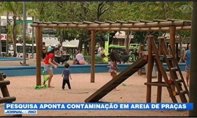Praça Saenz Pena: contaminação da areia do parquinho por vermes parasitas gera preocupação