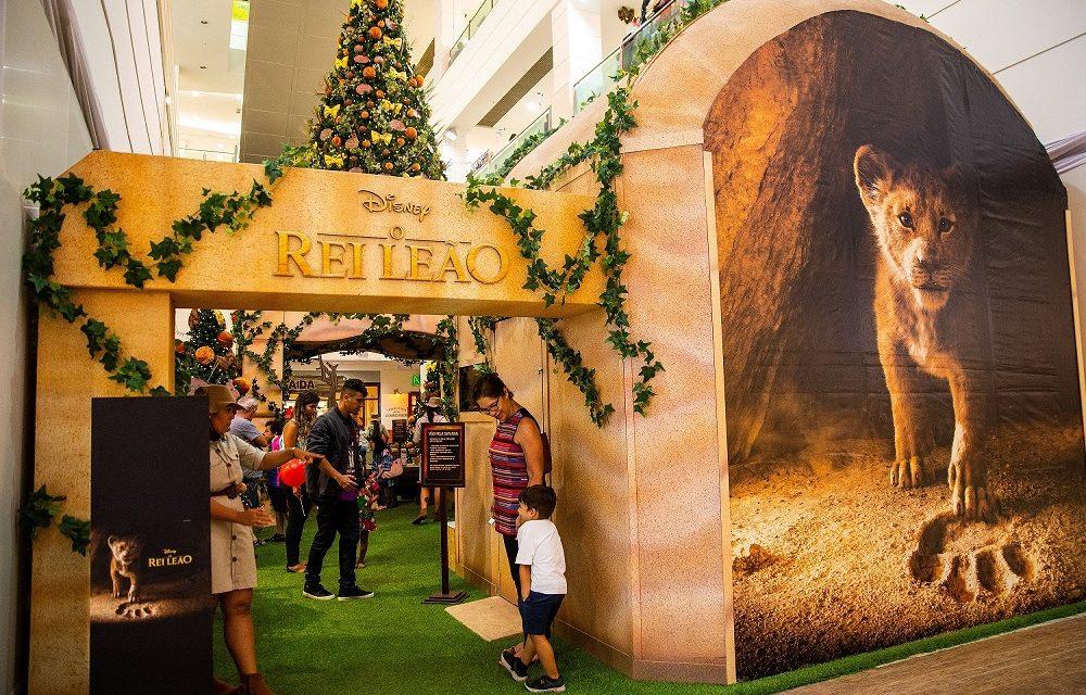 Shopping Tijuca recebe Natal inédito inspirado no novo filme O Rei Leão da Disney