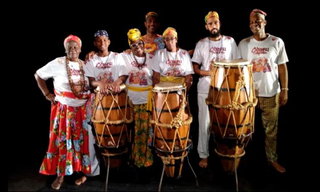 Caxambu do Salgueiro grava participação em Exposição Internacional do IPHAN