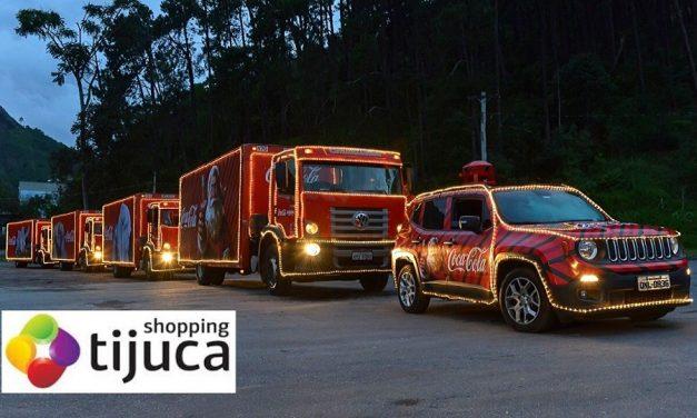 Shopping Tijuca recebe a Caravana da Coca-Cola neste Domingo, 15