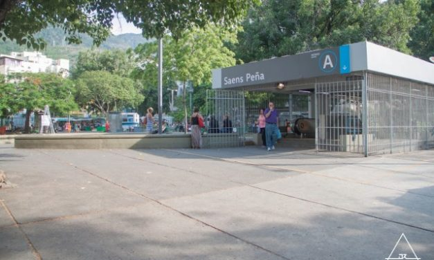 Metrô na Tijuca: Estação Saens Pena
